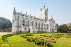 St Pauls大教堂 图库摄影