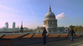 St Pauls stock video footage