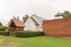 St Pauls Anglican Church nel fiume di Mooi fotografie stock