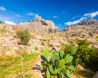 St Pauls Bay Lindos Stock Images