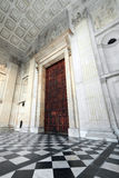 St. Pauls Cathedral. A wide view from London St. Paul's Cathedral Portico - Great West Door Royalty Free Stock Image