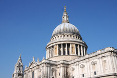 St Pauls Cathedral. Christopher Wrens St Pauls Cathedral in London Stock Images