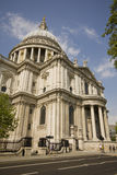 St pauls Cathedral. Wide angle picture Stock Photo