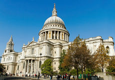 St Pauls Cathedral. Royalty Free Stock Photography