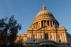 St. Pauls' Cathedral Royalty Free Stock Photography