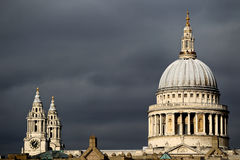 St Pauls Cathedral Fotos de Stock Royalty Free