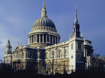 St pauls cathedral. London england uk Stock Photo