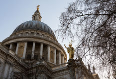 St Pauls Cathedral Church London England Royalty Free Stock Images
