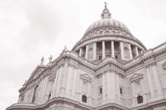 St Pauls Cathedral Church, London Royalty Free Stock Image