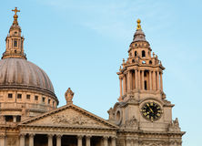 St Pauls Cathedral Church London England Stock Photo
