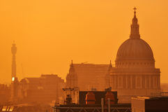 St Pauls Cathedral de Londres Photographie stock