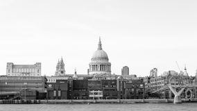 St. Pauls Cathedral dome Stock Photography