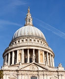 St Pauls Cathedral dome. Dome of St Paul's Cathedral in London Stock Image