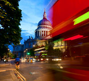 St Pauls Cathedral at dusk Stock Photography