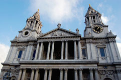 St Pauls Cathedral England Royalty Free Stock Photo