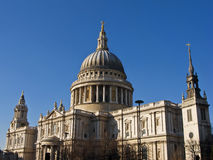 St Pauls Cathedral, London. St Paul's Cathedral Architecture, London, England UK Stock Photos