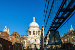 St Pauls Cathedral in London Royalty Free Stock Photos