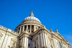 St Pauls Cathedral in London Stock Photo