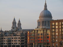 St Pauls Cathedral, London City Royalty Free Stock Photos