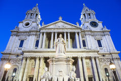 St. Pauls Cathedral in London Stock Image