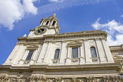 St Pauls Cathedral, London, England stock image