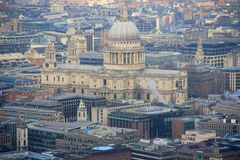 St. Pauls Cathedral in London Royalty Free Stock Photos