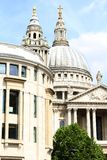 St Pauls Cathedral, London England Stock Image