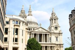 St Pauls Cathedral, London England Stock Images
