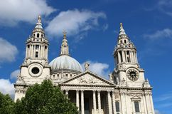 St Pauls Cathedral, London England Stock Photography
