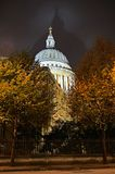 St Pauls Cathedral, London, England, UK, night Royalty Free Stock Photography