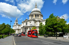 St Pauls Cathedral London het UK royalty-vrije stock fotografie