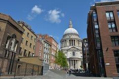St Pauls Cathedral London het UK Royalty-vrije Stock Afbeeldingen