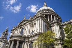 St. Pauls Cathedral in London Royalty Free Stock Images