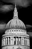 St Pauls Cathedral London (monochrome) Royalty Free Stock Photography