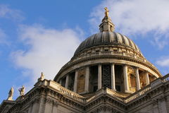 St Pauls Cathedral London Stock Image