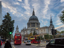 St Pauls Cathedral in London. UK Royalty Free Stock Photos