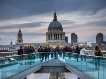 St Pauls Cathedral in London Royalty Free Stock Image