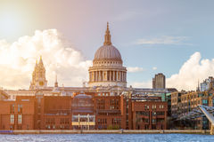St Pauls Cathedral in London, UK Royalty Free Stock Photography
