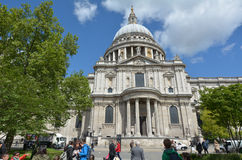 St Pauls Cathedral London UK Stock Images