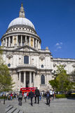 St. Pauls Cathedral in London Stock Photos