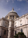 St Pauls Cathedral, London, United Kingdom. The classicism St Pauls Cathedral in London, United Kingdom Stock Photography