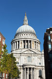 St. Pauls cathedral, London. Stock Image
