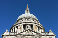 St. Pauls cathedral, London. Stock Images