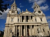 St Pauls Cathedral, Londres Foto de Stock Royalty Free