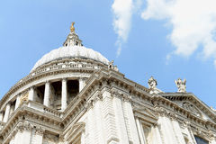 St Pauls Cathedral. The St Paul's Cathedral in London Stock Photos