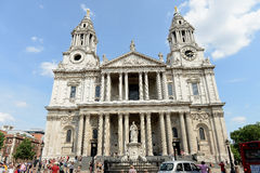 St Pauls Cathedral. The St Paul's Cathedral in London Stock Photography