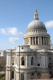 St Pauls Cathedral from rooftop viewing platform Royalty Free Stock Photos