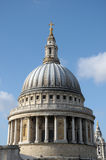 St Pauls Cathedral from rooftop viewing platform Stock Images