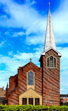 St Pauls Chapel, Paisley, Renfrewshire, Scotland Stock Photo