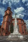 St Pauls Church su Paulsplatz a Francoforte Fotografia Stock Libera da Diritti